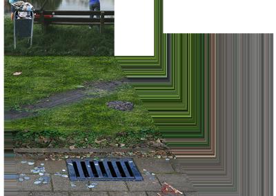 achterwand en vloerloper Eco Consult
