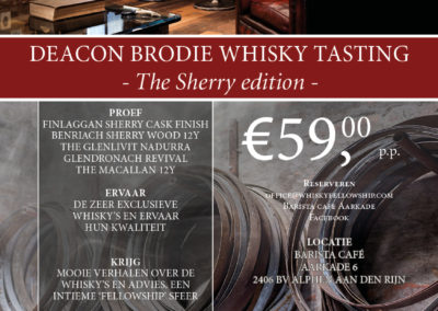 Deacon Brodie Whisky Fellowship