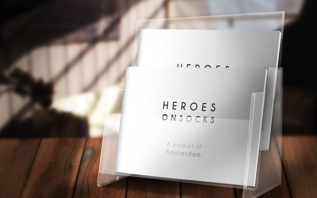 Catalogus Heroes on Socks